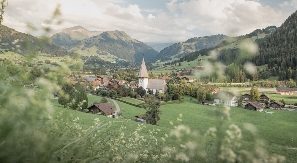 Die Wanderwege in der Destination Gstaad