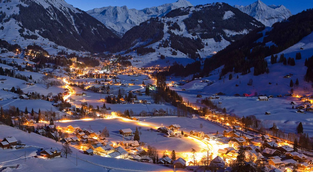 Gstaad, last paradise in a crazy world